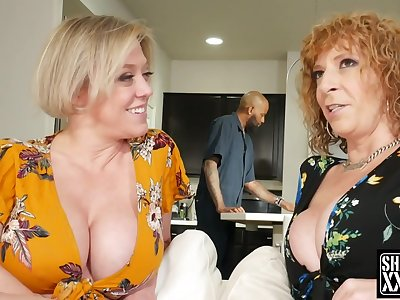 2 Big-Breasted Pawg Full-grown Dee Williams and Sara Chouse