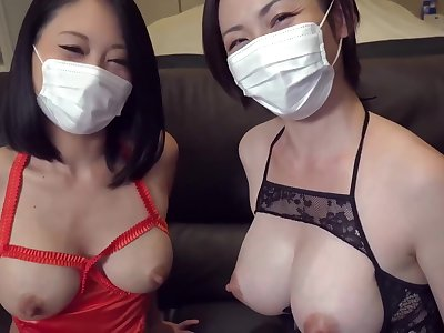 JAV FC2 - Beauty Breastfeeding Moms Miki & Reiko Lady-love