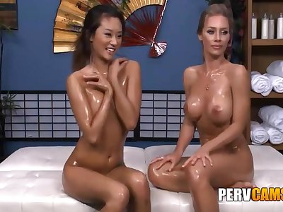 Nicole And Alina Lesbian Friends Oiled Erection Playing - Nicole Aniston And Alina Li
