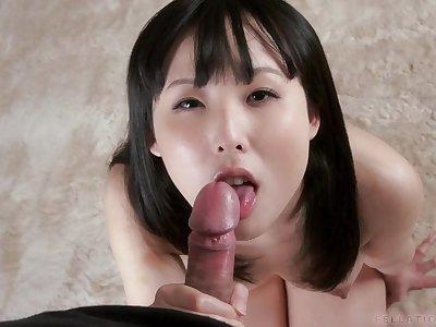 pov blowjob- japanese