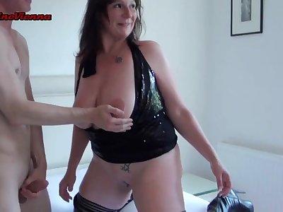 Mature lady gangbang porn movie