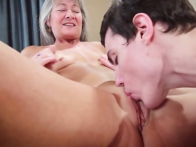 Sexy Milf Leilani - Taboo Grandmother Leilani Lei Fucks Grandson For Fare well Present