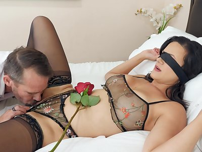 Low-spirited fucking beyond everything the bed with prex grown up fit together Penny Barber